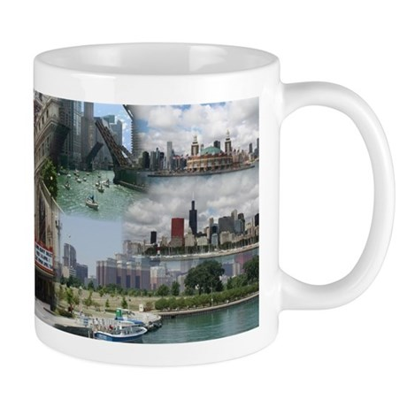 Chicago Images Collage Mug Mugs