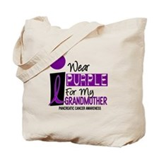 I Wear Purple For My Grandmother 9 PC Tote Bag