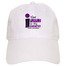 I Wear Purple For My Grandmother 9 PC Baseball Cap