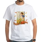 Musical Happy Easter White T-Shirt