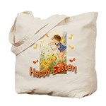 Musical Happy Easter Tote Bag