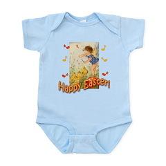 Musical Happy Easter Infant Bodysuit