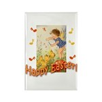 Musical Happy Easter Rectangle Magnet (10 pack)