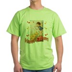 Musical Happy Easter Green T-Shirt