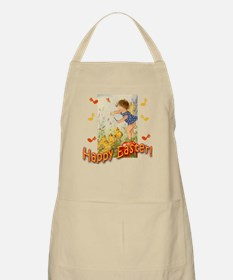 Musical Happy Easter BBQ Apron