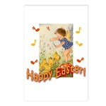 Musical Happy Easter Postcards (Package of 8)