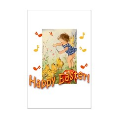 Musical Happy Easter Posters