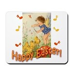 Musical Happy Easter Mousepad