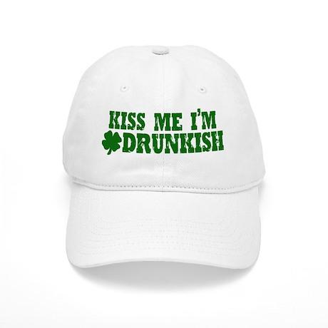 Kiss Me I'm Drunkish Cap