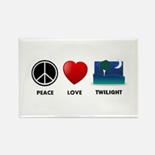 Peace Love Twilight Gift Rectangle Magnet