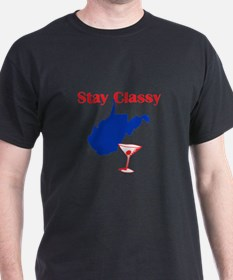 Stay Classy West Virginia T-Shirt