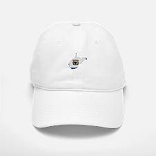 West Virginia Stripe Custom D Baseball Baseball Cap