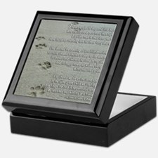 Memorial Poem for a Dog Keepsake Box