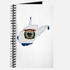 West Virginia Stripe Custom D Journal