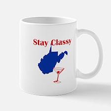Stay Classy West Virginia Mug