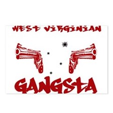 West Virginian Gangsta Postcards (Package of 8)