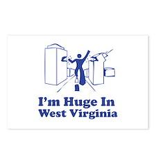 I'm Huge in West Virginia Postcards (Package of 8)