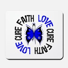 Colon Cancer Faith Mousepad