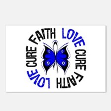 Colon Cancer Faith Postcards (Package of 8)