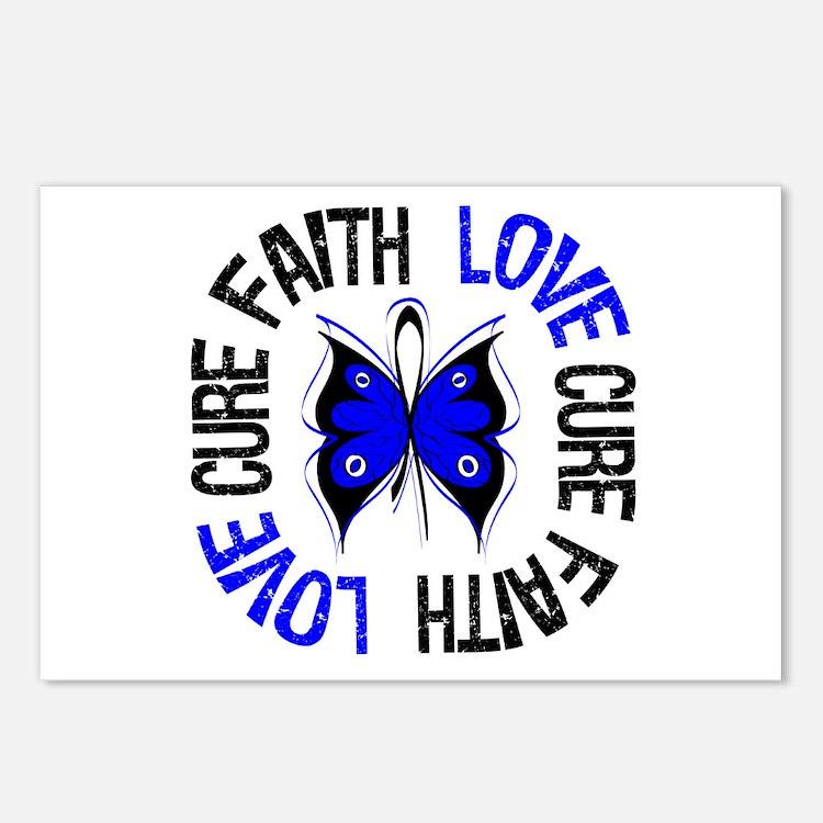 Colon Cancer Faith Postcards (Package of 8)