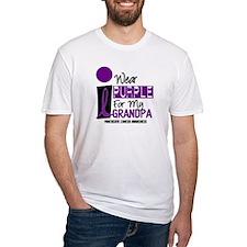 I Wear Purple For My Grandpa 9 PC Shirt