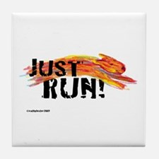 Just RUN! Tile Coaster