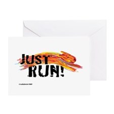 Just RUN! Greeting Card