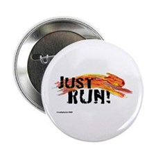 "Just RUN! 2.25"" Button"
