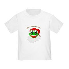 Christmas Frog Santa T