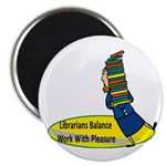 Librarian 2 Magnet
