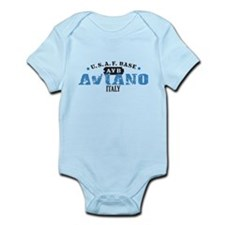 Aviano Air Force Base Infant Bodysuit