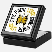 Appendix Cancer Faith Keepsake Box