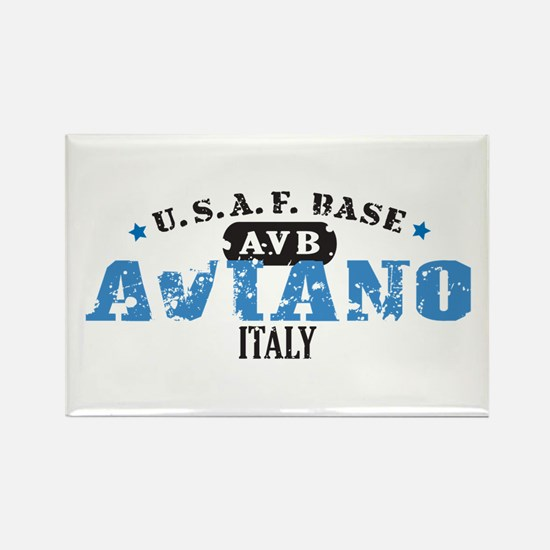 Aviano Air Force Base Rectangle Magnet