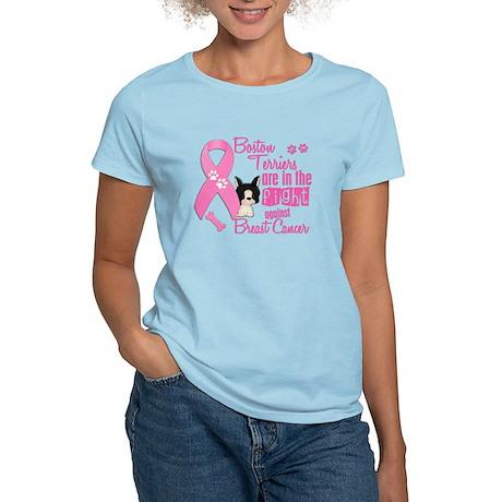 Boston Terriers Against Breast Cancer 2 Women's Li