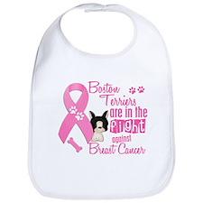 Boston Terriers Against Breast Cancer 2 Bib