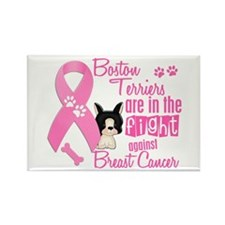 Boston Terriers Against Breast Cancer 2 Rectangle