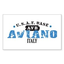 Aviano Air Force Base Decal