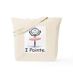 Ballet Dancer Pointe Tote Bag