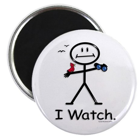 "BusyBodies Bird Watching 2.25"" Magnet (100 pack)"