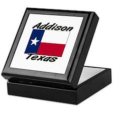 Addison Texas Keepsake Box