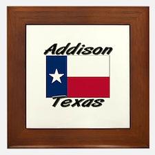Addison Texas Framed Tile