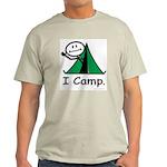 BusyBodies Camping Ash Grey T-Shirt