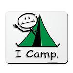 BusyBodies Camping Mousepad