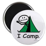 BusyBodies Camping Magnet