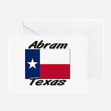 Abram Texas Greeting Card