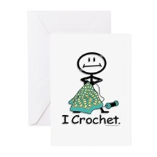 BusyBodies Crochet Greeting Cards (Pk of 10)