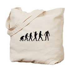 Funny Zombie Evolution Tote Bag