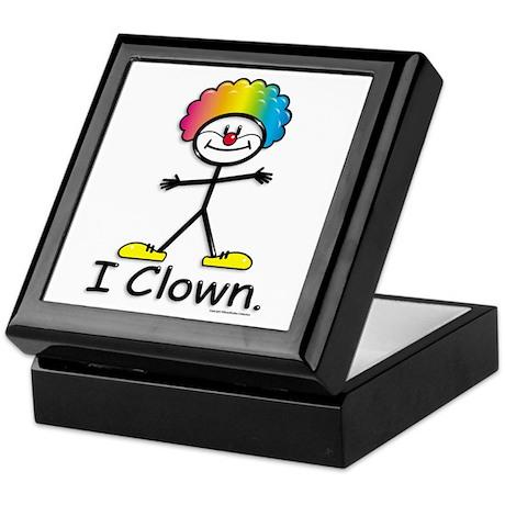 BusyBodies Clowning Keepsake Box