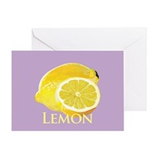 Lemon Citrus Greeting Card
