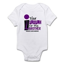 I Wear Purple For My Brother 9 PC Infant Bodysuit
